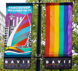 Davie Village barrio de Vancouver