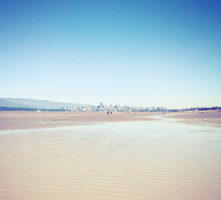 Playa Spanish Banks en Vancouver