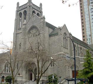 Christ Church Cathedral de Vancouver