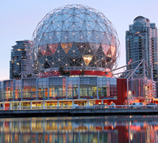 Science World en Vancouver